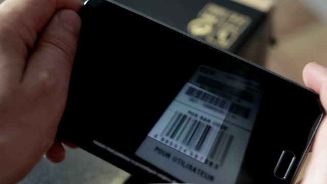 Scanning Bar Code with smart phone video