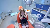 Scared patient video