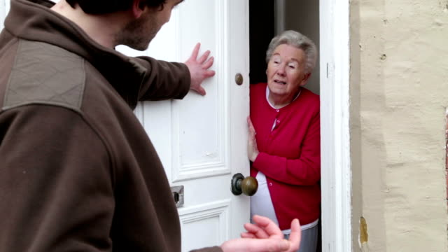 Scaring the Elderly video