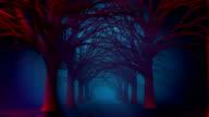 Scary Halloween Path video