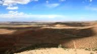 Scene at atlas mountain in morocco video