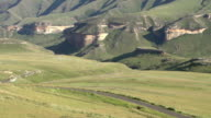 Scenery of Golden Gate highlands National Park,South Africa video