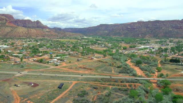 Scenic aerial shots of Utah, USA video