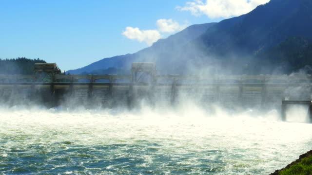 Scenic Bonneville Dam in Oregon video
