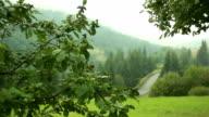 Scenic Landscapes Carpathian Mountains Ukraine video