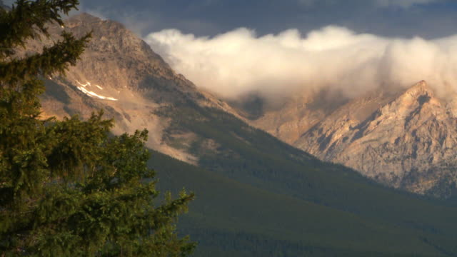 Scenic of Rocky Mountains video