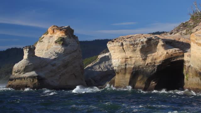 HD scenic Oregon Coast video