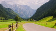 WS DS Scenic Road Through A Green Valley video