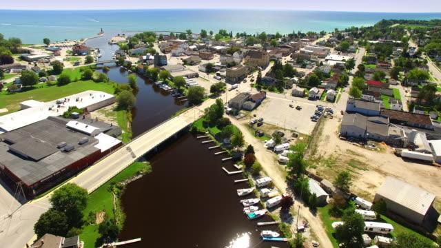 Scenic Tourism and Sport Fishing Destination, Algoma Wisconsin video