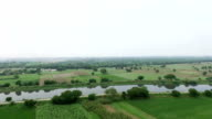 Scenic view of agriculture land video