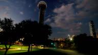 Scenic View of Downtown Dallas video