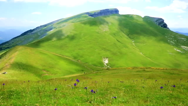 Scenic view of high part of Pyrenees mountains,Spain video