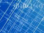 Schematic blueprint in mathematical Red video