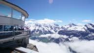 Schilthorn Swiss Alps Time Lapse video