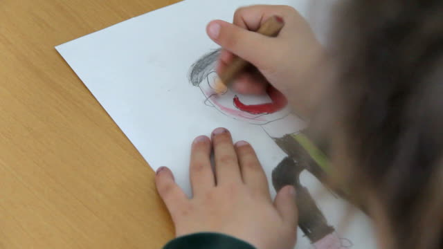 School Child Drawing Exercises video