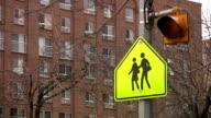 School crossing. video