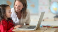 School Girl Classroom video