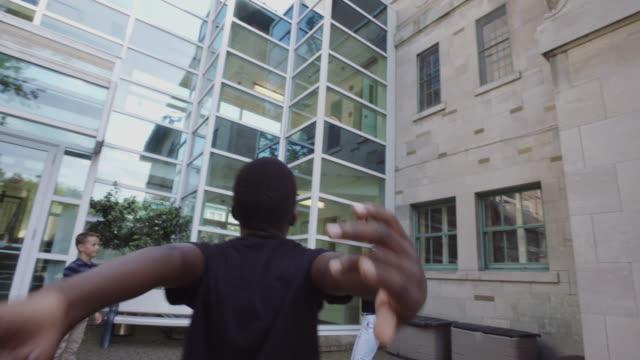 School Student Recreation 4K 4:2:2 Slow motion video
