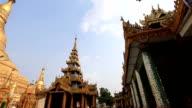 Schwedagon pagoda video