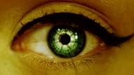 sci fi eye video