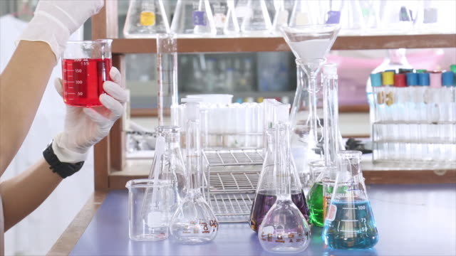 Science laboratory video