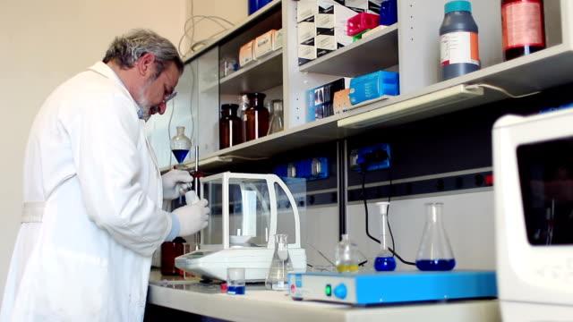 scientific laboratory video