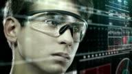 Scientist in laboratory - Stock Video video