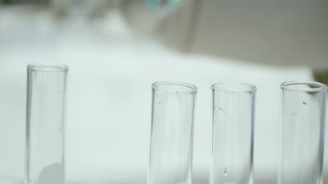 scientist testing in Laboratory video