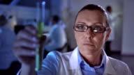 CU Scientist Using A Futuristic Equipment video