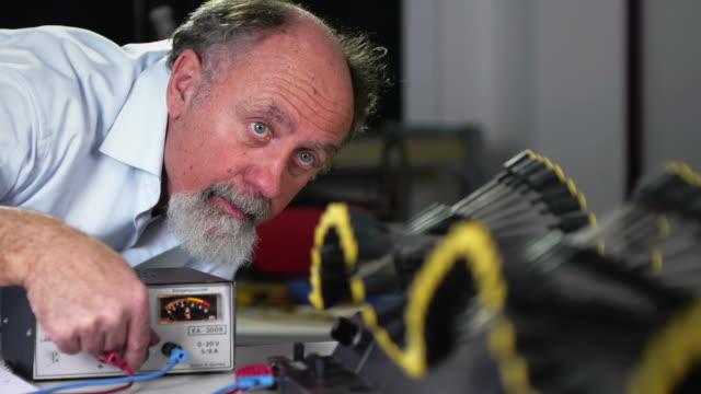 Scientist with Wave Machine video