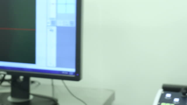 Scientist working at laboratory video