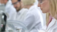 CU DS Scientist Working In A Laboratory video