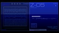 03. Sci-fi Button - Stock video video