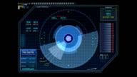 04. Sci-fi Button - Stock video video