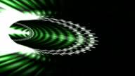 Sci-Fi Corridor - Green video