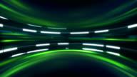 sci-fi green background seamless loop video