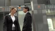 HD SLOW-MOTION: Scolding An Employee video