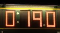 Scoreboard, score, board, stopwatch, time, chronometer, sport video