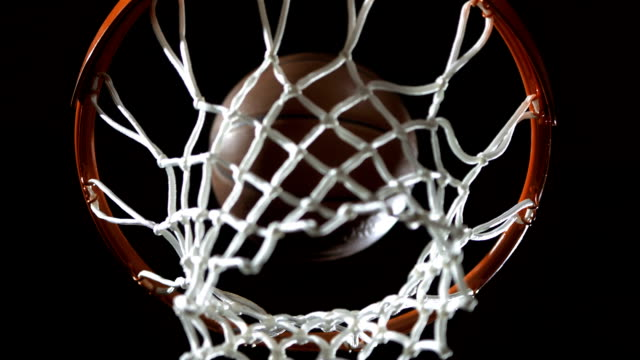 Scoring A Basket (Super Slow Motion) video