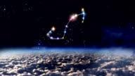 08 Scorpio horoscopes of zodiac sign space video