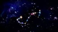 08 Scorpio Horoscopes space rotation video