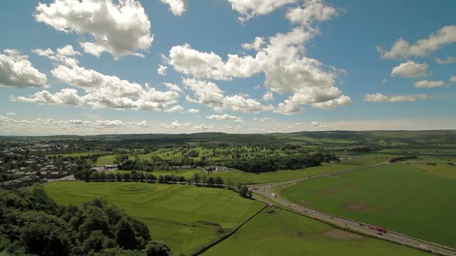 Scottish Countryside - Stirling, Scotland - Full Pan video