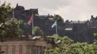 Scottish National Gallery and Edinburgh Castle video