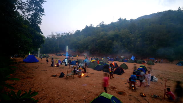 scouts camping activities video
