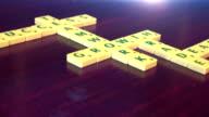 Scrabble Business Crossword Animation HD video