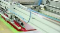 Screen printing video
