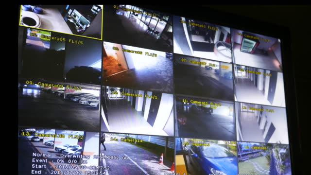 Screen Shot of Security Cameras Posted video