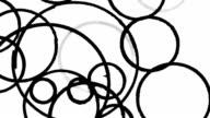 Scribble element. Сircle. video