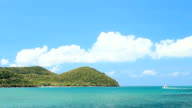 Scuba Diving Boat Crossing Tropical Waters video