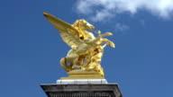 Sculptures on Pont Alexandre III, Paris video